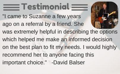 Testimonial David Balser