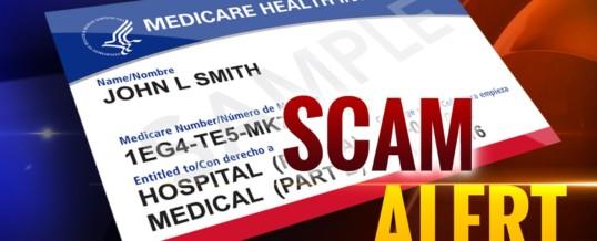 COVID-19 Medicare Scam Alert